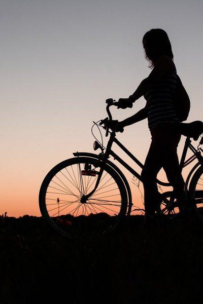 Cycling in The Sebatu Village